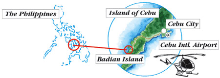 Badian Island Map
