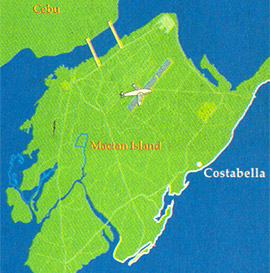 Costabella Tropical Beach Hotel Map