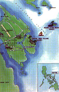 Island and Sun Beach Resort Map