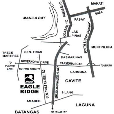 Microtel Inns and Suites - Cavite Map