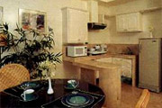 Orchid Garden Suites Kitchen