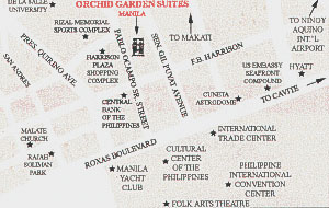 Orchid Garden Suites Map